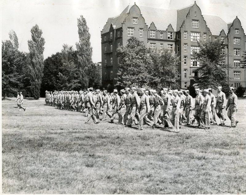 1517th Army unit training