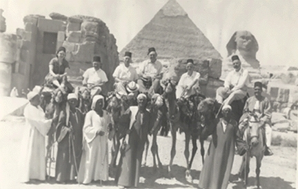 Patrick W. Skehan in Egypt