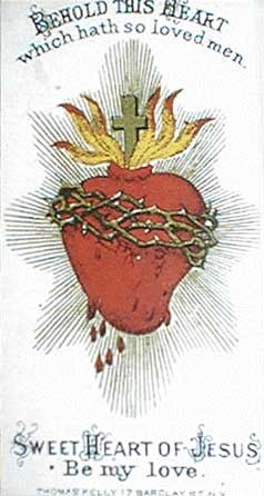 Sacred and Immaculate Heart Materials