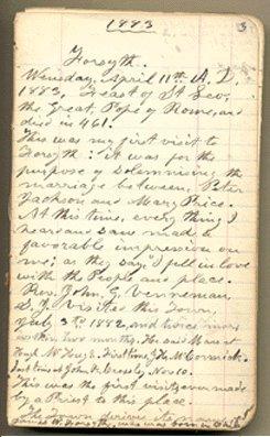Diary/Accounts #23, 1888