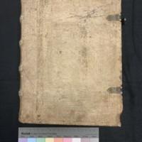 Super Secundo libro Sententiarum Petri Lombardi (1481), Cover.