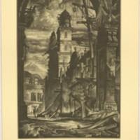 Demolition in the Plaza Del Toro (Print 6)