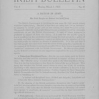 Irish Bulletin: 7 March 1921