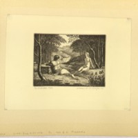 The Waterfall (Print 1)