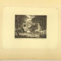 The Waterfall (Print 1)