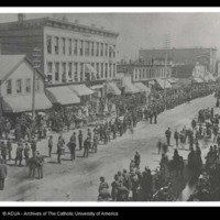 Knights of Labor Parade in Colorado 7-4-1887