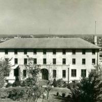 St. John's Hall, Front