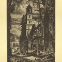 Demolition in the Plaza Del Toro (Print 14)