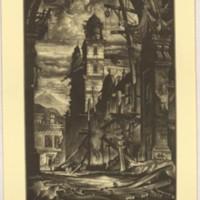 Demolition in the Plaza Del Toro (Print 3)