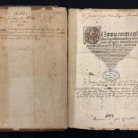 Summa Contra Gentiles (1509), Title Page.