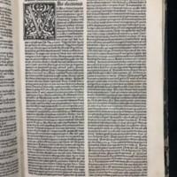 Super Epistolas Sancti Pauli (1498), Initial Example.
