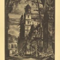 Demolition in the Plaza Del Toro (Print 12)