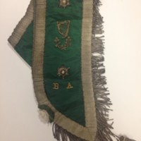 Terence Vincent Powderly's Clan Na Gael Sash