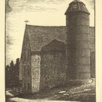 Untitled (Barn and Silo) (Print 2)
