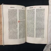 Super Secundo libro Sententiarum Petri Lombardi (1481), Text Example.