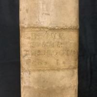 Summa Theologiae (1581), Spine.