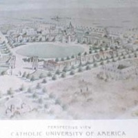Conceptual Drawing of Planned University Campus