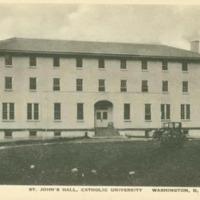 St. John's Hall, Exterior