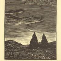 Untitled (Nightfall Over Meadow)