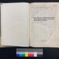 Super Epistolas Sancti Pauli (1498), Title Page.