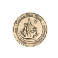 Commemorative coin given to Pope Benedict XVI by Father O'Connell