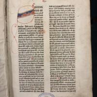 Super Secundo libro Sententiarum Petri Lombardi (1481), First Page.