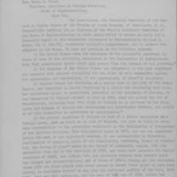 Letter to Congressman Flood