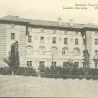 The Apostolic Mission House, Exterior