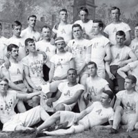 Amherst College Track Team, 1890, William T.S. Sherman (front row, second from left), Courtesy of Amherst.jpg
