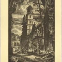 Demolition in the Plaza Del Toro (Print 2)