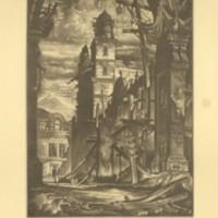 Demolition in the Plaza Del Toro (Print 9)
