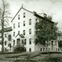 St. Thomas Hall, Exterior