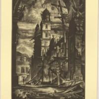 Demolition in the Plaza Del Toro (Print 4)