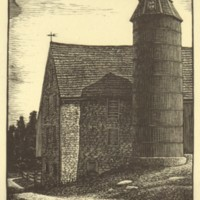Untitled (Barn and Silo) (Print 1)