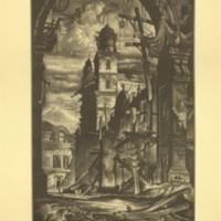 Demolition in the Plaza Del Toro (Print 13)