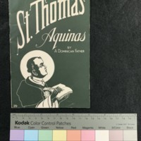 St. Thomas Aquinas, Cover.