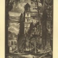Demolition in the Plaza Del Toro (Print 11)