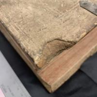 Super Secundo libro Sententiarum Petri Lombardi (1481), Wood Detail.