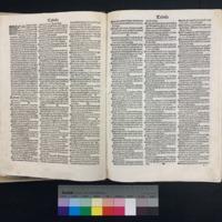 Super Epistolas Sancti Pauli (1498), Table of Contents.