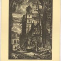 Demolition in the Plaza Del Toro (Print 7)