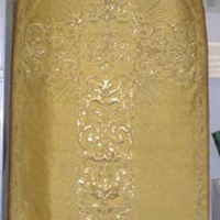Chasuble from a set of Ceremonial Vestments Worn by James Cardinal Gibbons