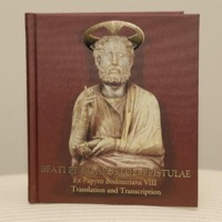 Book which accompanied the museum-grade reproduction of the ancient Bodmer Papayrus VIII