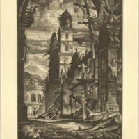 Demolition in the Plaza Del Toro (Print 10)